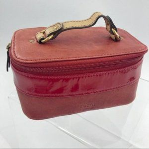 Fossil Leather Jewelry Travel Case